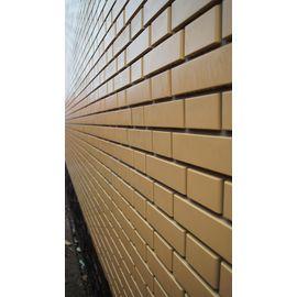 """Фасадная панель """"Кирпич клинкерный"""" ЖЕЛТЫЙ (1220х440), фото , изображение 3 - Метэкс"""