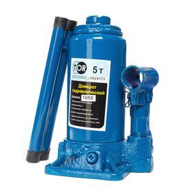 Домкрат гидравлический бутылочный 5 т подъем 190-370 мм TOR 1055, фото  - Метэкс