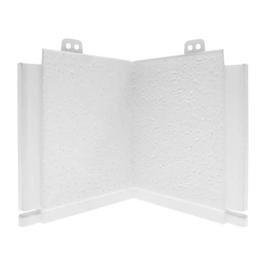 Угол добора для откоса белый 190 х 690 АЛЬТА-ПРОФИЛЬ, фото - Метэкс