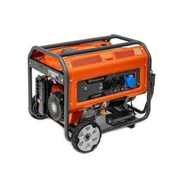 Генератор бензиновый HUSQVARNA G8500P, 7.5 кВт, 220 В, 27 л, электростартер 9678635-02, фото  - Метэкс