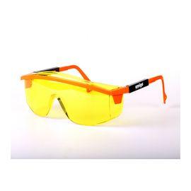 Очки защитные открытого типа желтые ударопрочный поликарбонат AMIGO 74214, фото  - Метэкс