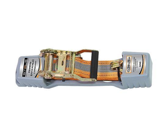 Ремень багажный 0,038х5м с крюками храповый механизм Stels, фото - Метэкс