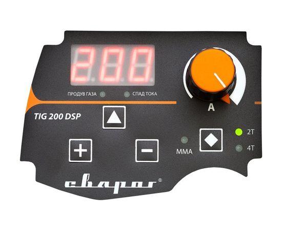 Инвертор сварочный PRO TIG 200 DSP (W207), фото , изображение 3 - Метэкс