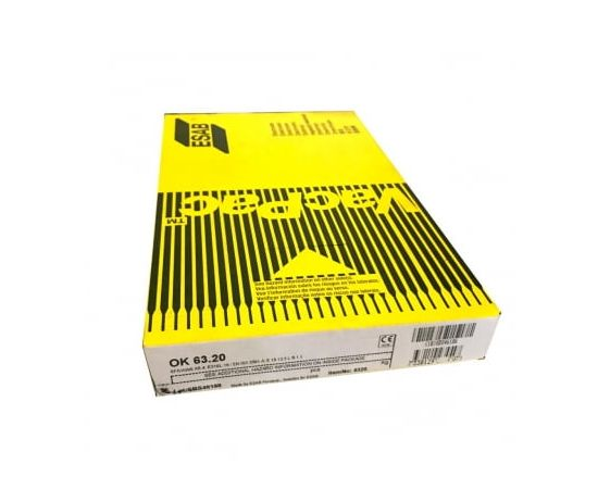 Электроды ESAB ОК 63.20 (2.0x300) 1/4 VP, фото - Метэкс