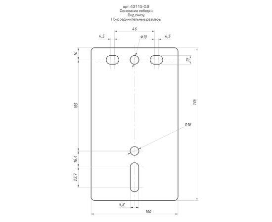 Лебедка ручная барабанная ленточная 0,9т 10м ЗУБР 43115-0.9, фото , изображение 2 - Метэкс