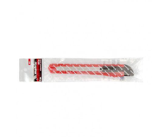 Нож 9 мм выдвижное лезвие MATRIX 78911, фото , изображение 2 - Метэкс