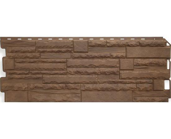 """Фасадная панель """"Скалистый камень"""" ТИБЕТ (1170х450), фото - Метэкс"""